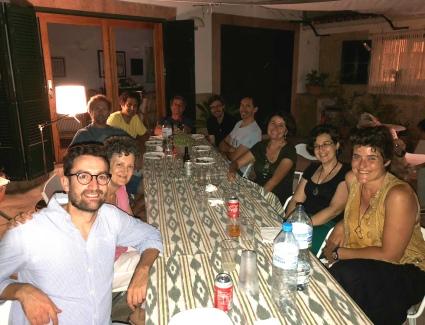 Sopar Poli Alou i Pere Morell-Mallorca