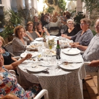 Cena en casa de Na Margarita i en Feliu-17 setembre19